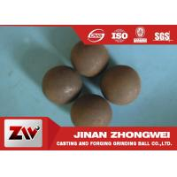 Quality Diameter 20mm forged and cast grinding steel balls for ball mill for sale