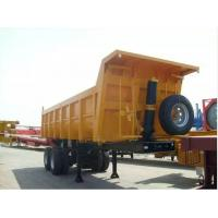 Quality 45 tons Tipper Trailer, Dumping Tipper Trailer for sale