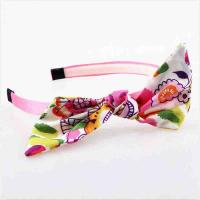 Quality Hoop Toddler Girl Hair Accessories Hairband Fabric Material Eco - Friendly for sale