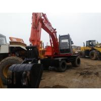 Quality EX100WD-3 Used wheel excavator 1999 made in japan hitachi used excavator ex100wd-1 for sale