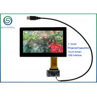 Quality ROHS 7'' USB PCAP Projected Capacitive Smart Home Touch Panel For Appliances for sale