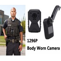 China Mini Hd 1296p Video Audio Wearable Video Camera Recorder For Law Enforcement on sale
