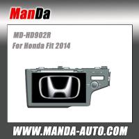 Buy cheap 2 din car radio for Honda Fit 2014 Car dvd player gps navigation multimedia from wholesalers
