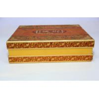 Buy Full Color Gift Custom Paper Bag Printing , Moon Cake Box With UV Varnish at wholesale prices
