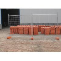 Quality temporary construction fence panels 2100mm x 2400mm Meet AUS and NZS 4687-2007 HDG to be 42 microns zinc for sale