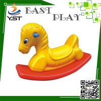 Quality Anti UV Plastic Rocking Horse Improve Intelligence For 3 - 8 Years Old Kids for sale