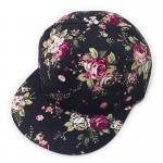 Quality Adjustable Hip Hop Snapback Caps , Flat Brim Baseball Cap Anti Pilling For Adult for sale