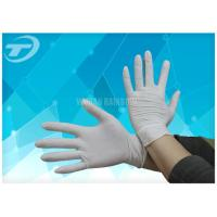 Quality Comfortable Feeling Medical Disposable Gloves With Anatomic Shape 6 - 9 Size for sale
