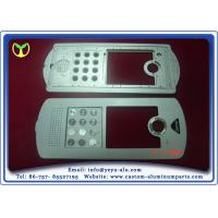 China Building Interphone Aluminum Parts Manufacturing With Silver Anodizing on sale