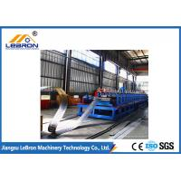Quality High Speed Cable Tray Roll Forming Machine , 18 Stations Cable Tray Punching Machine for sale