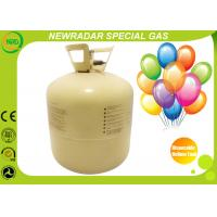 Quality Portable Helium Tank Disposable Small , Balloon Helium Canister for sale