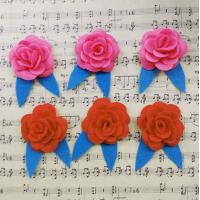 Quality Decorative Fabric Flower Decorations Home Clothing Mini Fashionable for sale