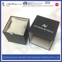 China Comapct Size Cardboard Watch Boxes , Custom Packaging Boxes UV Coating on sale