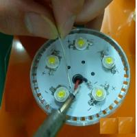 Led Electronic PCB With Cable / Customized Electronic Led PCBA for sale