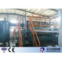 Waste Paper Egg Tray Machine With Diesl / Gas Fuel Drying line 4000PCS / Hour
