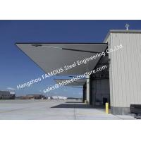 Quality Strap Lift One Piece Door Tip Up Canopy Hydraulic Bi Folding Doors Ideal For Aircraft Carport for sale
