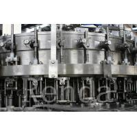 Quality Automatic Bottle Carbonated Soft Drink Beverage Filling Machine / Bottling Machine for sale