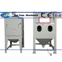 Quality Steel / Aluminum Products Industrial Sandblast Cabinet 220V 13W Lighting Inside Chamber for sale