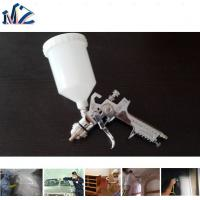 Quality Chrome Painting Big Nozzle Size Plastic Cup Gravity HVLP H827 Air Spray Gun for sale