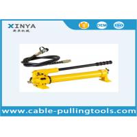 China Manual Type CP-180 Hydraulic Hand Pump 350cc For Hydraulic Puller on sale