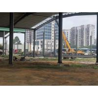 Quality U Channel Green Workshop Steel Structures For Railway Station for sale