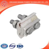 Quality aluminium parallel groove connector with 2 bolts for sale