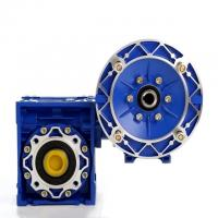 Quality NMRV RV Ratio 20/1 56C Worm Reduction Gearbox With Double Shaft 50Hz Frequency for sale