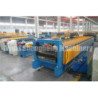 Quality 50HZ 3 Phase Roofing Sheet Roll Forming Machine / Metal Forming Machinery for sale