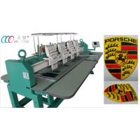 Quality 4 Heads 9 Needles Computerized Flat Embroidery Machine for sale