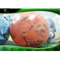 Quality Large Inflatable Advertising Balloons , Inflatable Planet Balloon For Advertising for sale