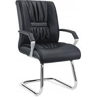 Quality Pu Leather Non Rolling Office Visitor Chairs For Waiting Room Anti Mildew for sale