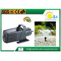 China Plastic Multi - System Water Fountain Submersible Pump Energy Saving Big Flow Rate on sale