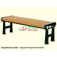 Recyclable 100% Composite Picnic Bench , Waterproof Composite Wood Bench Slats