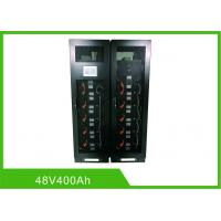 Quality ESS UPS LiFePO4 Rechargeable Batteries 48V 400Ah RS485 Modbus Communication for sale