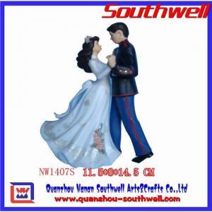 Quality Polyresin wedding gifts,wedding cake topper,wedding decoration,wedding favors,polyresin wedding figu for sale