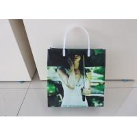 Buy cheap BOPP / LDPE Handle Plastic Gift Bags Packaging Recyclable With Square Bottom from Wholesalers