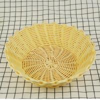China Eco-friendly and disposable handmade decorative cheap price pp fruit baskets storage baskets on sale