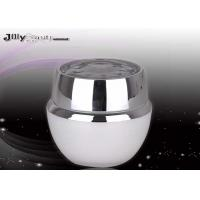 Quality Material PMMA Plastic Jars With Lids 50ml Empty Cosmetic Jars for sale
