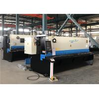 Buy cheap NC CNC Hydraulic Shearing Machine Thin Thick Metal Plate Bar Guillotine Cutting from wholesalers