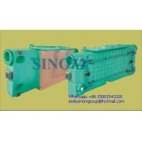 Water tank for copper mould plate