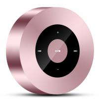 China Pink Rose Wireless Bluetooth Speakers , Qi Outdoor Bluetooth Speakers Small Body Drive on sale