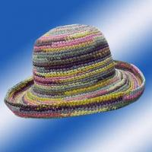 China Raffia Straw Crochet Hats 10/303 on sale