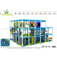 Indoor Soft Baby Play Centre , Custom Made Indoor Jungle Gym For Toddlers for sale