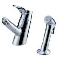 China Sink Mounted Brass Two Hole Bathroom Faucet on sale