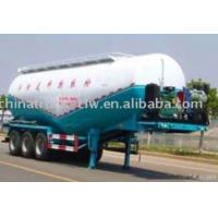 Quality Semitrailer Dry Bulk Cement Powder Truck for sale