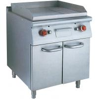 Quality Stainless Steel Hotel Commercial Electric Griddle With Oven For Natural Gas for sale