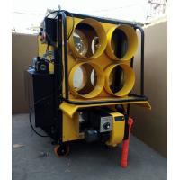 Quality Yellow 4 Outlet Waste Oil Burning Heater Stainless Steel Combustion Chamber for sale