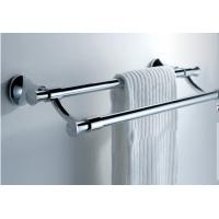 Quality Safety Stainless Steel Towel Rack Wall Mounted Bathroom Towel Shelves for sale