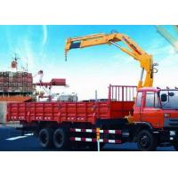 Quality Portable hydraulic truck mounted cranes 14000kg Knuckle Boom XCMG for sale