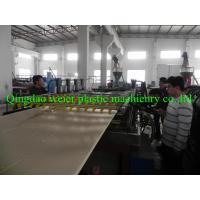 China Co-Extrusion WPC PVC Plastic Foam Board Production Line / Extrusion Machinery on sale